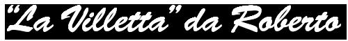 Ristorante La Villetta da Roberto – Abano Terme Logo